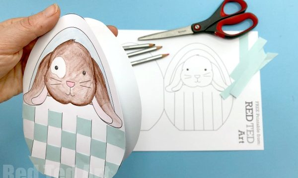 Bunny Basket Card