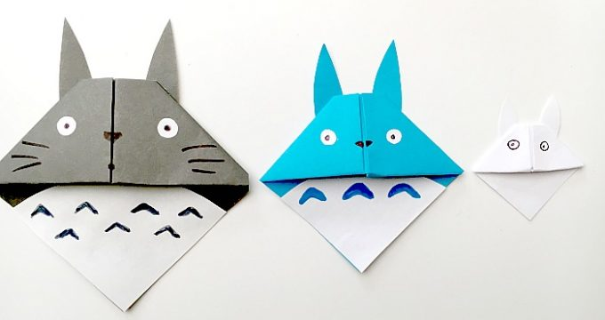 Totoro Corner Bookmark
