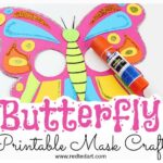 Butterfly Mask Printable