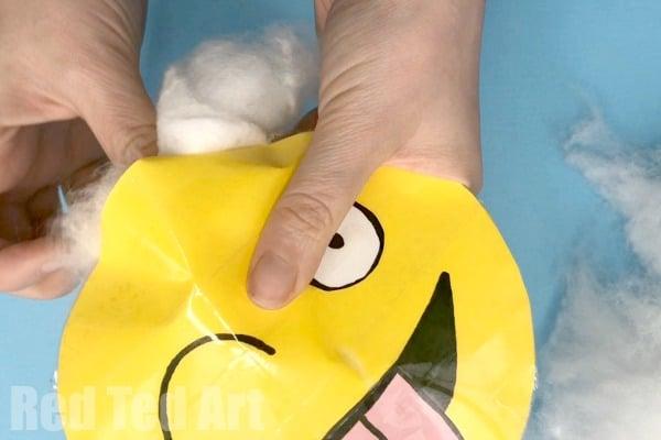 How to Make Paper Squishies Emoji - How to make a squishy. DIY Squishies. Easy Paper Squishy without foam #paper #squishy #papersquishy #emoji
