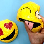 How to Make Paper Squishies Emoji