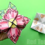 Mother's Day Flower Fortune Teller