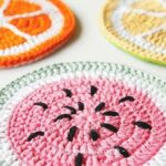 HOW TO CROCHET POT HOLDERS FOR SUMMER