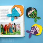 Mermaid Corner Bookmark Design