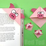ladybug corner bookmark corner bookmarks how to amp designs ted s 2301