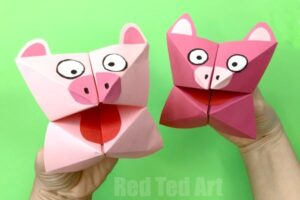 Origami For Preschool Red Ted Art S Blog