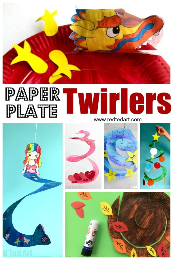 Paper Plate Twirlers - learn how to make a paper plate whirlgig. They are quick and easy and look great. For kids for preschool for any age group! #paperplates #twirlers #whirligigs #preschool