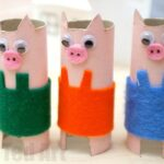 Toilet Paper Roll Pig Craft