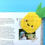 Pineapple Bookmark Corner Design