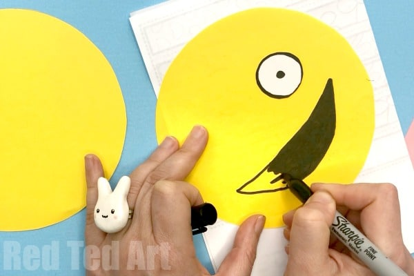 How To Make Paper Squishies Emoji Red Ted Art Make Crafting With Kids Easy Fun