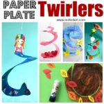 Paper Plate Twirler Kids Crafts