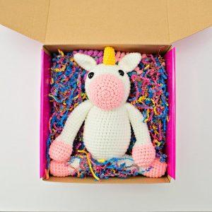Crochet Molly the Magical Unicorn Amigurumi Free Pattern ... | 300x300