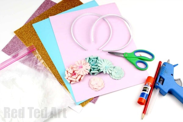 Unicorn Headband DIY - Red Ted Art s Blog 7c9150eaa17