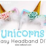 Unicorn Headband DIY