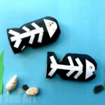 Toilet Paper Roll X-Ray Fish Craft