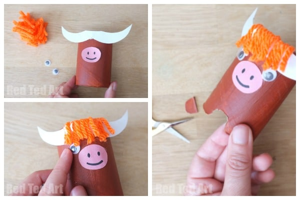 Toilet Paper Roll Yak - Y is for Yak - We love #Toiletpaperroll crafts and this CUTE #Yak is just brilliant. Super easy TP Roll Craft #forPreschool and #Kids! A great addition to any #Alphabet learning skills!
