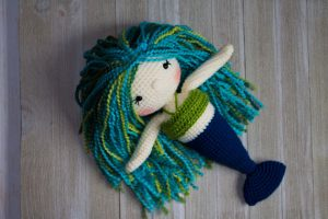 DIY Crochet Mermaid pattern