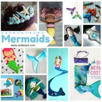 DIY Mermaid Craft Ideas