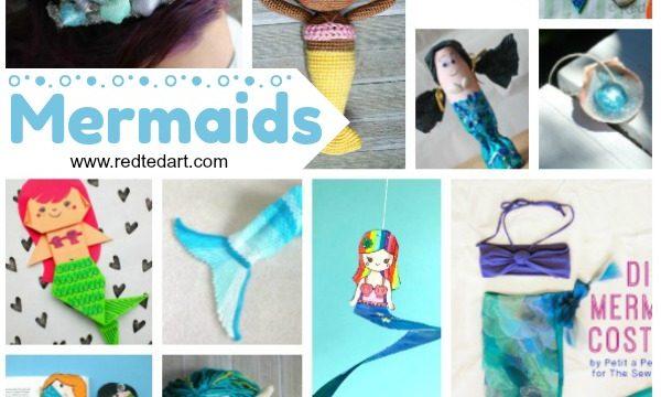 DIY Mermaid Craft Ideas