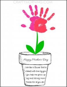 picture regarding Free Printable Mothers Day Crafts titled Printable Moms Working day Playing cards Crafts - Pink Ted Artwork