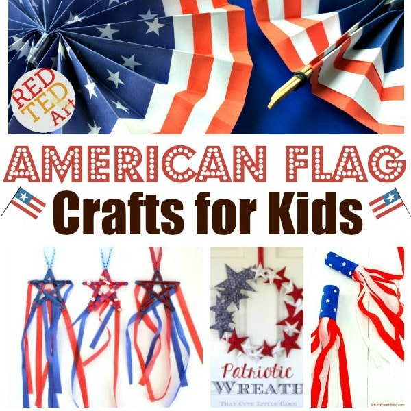 Kindergarten Flag Art Projects