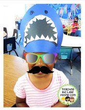 Shark Craft Ideas for Preschool - Red Ted Art\'s Blog