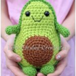 Crochet Toy Avocado Pattern