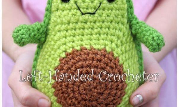 Crochet Toy Avocado Pattern