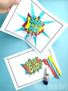 17 Great Father S Day Gifts For Kids To Make Red Ted Art