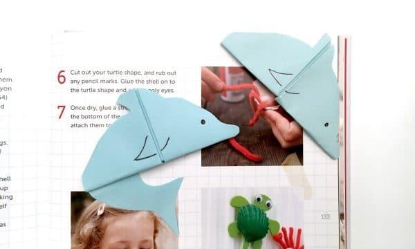 Dolphin Corner Bookmark