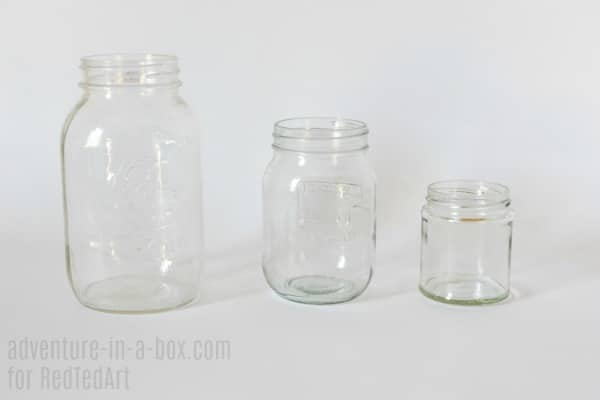 DIY Mermaid Lantern Jars. How to turn Mason Jars into magical Mermaid Mason Jars. Beautiful DIY Mermaid Room Decor! Includes free template #mermaids #printables #masonjars #fairyjars #lanterns #diy