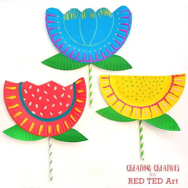Paper Plate Flowers For Toddlers Jerusalem House