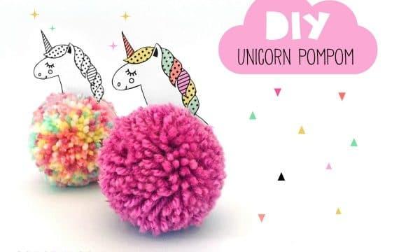 DIY Unicorn Pom Pom