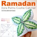 Ramadan Cootie Catcher Printable