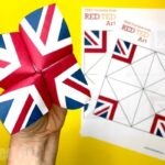Union Jack Fortune Teller Printable