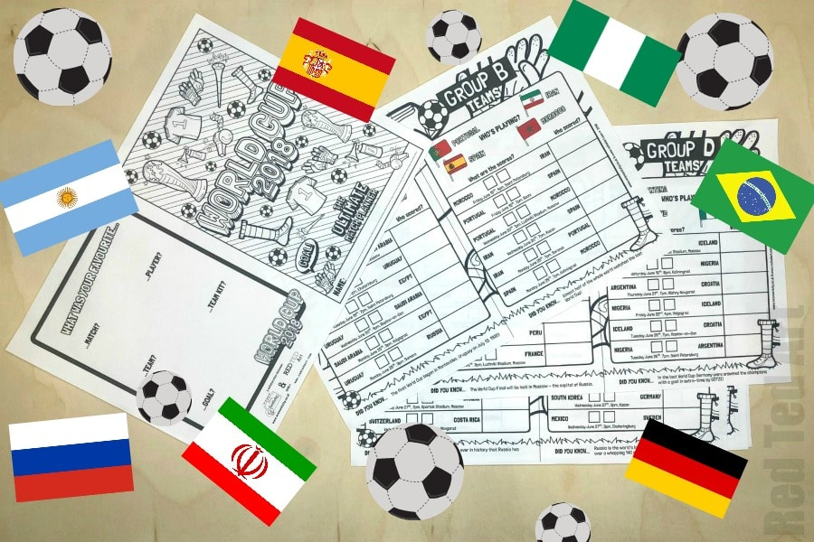 photo regarding World Cup Printable Schedule named International Cup Game Planner Printable - Crimson Ted Artwork