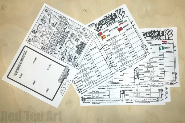 Free World Cup Match Planner Printable. Free World Cup Printables for Kids. Perfect to go with your World Cup Schedule or World Cup Wall Chart. Great KS1 or KS2 Class Room Activity for the World Cup #Printable #Free #WorldCup #matchplanner #fifa