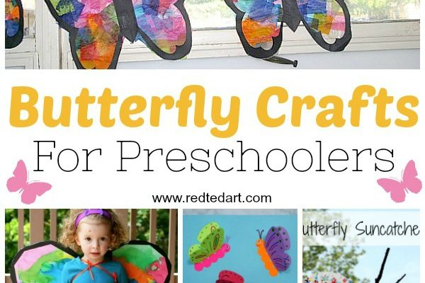 Easy crafts for kids butterfly crafts for preschool easy friendship bracelets solutioingenieria Image collections