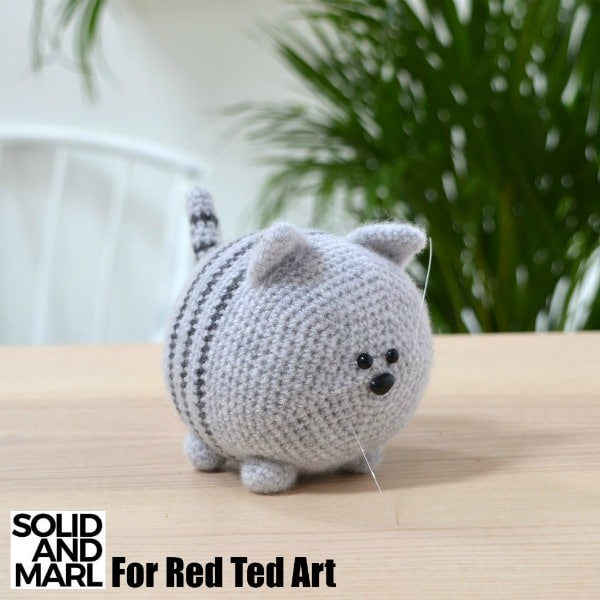 Ravelry: Cube Kitty Cat pattern by Crafty Bunny Bun | 600x600