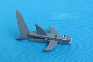 And Nother Super Cute Clothespin Shark Craft From Dzieciakiwdomu