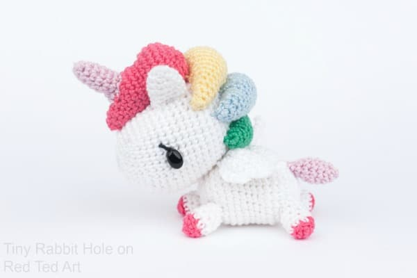 Free Crochet Unicorn Pattern Red Ted Art's Blog Best Unicorn Crochet Pattern