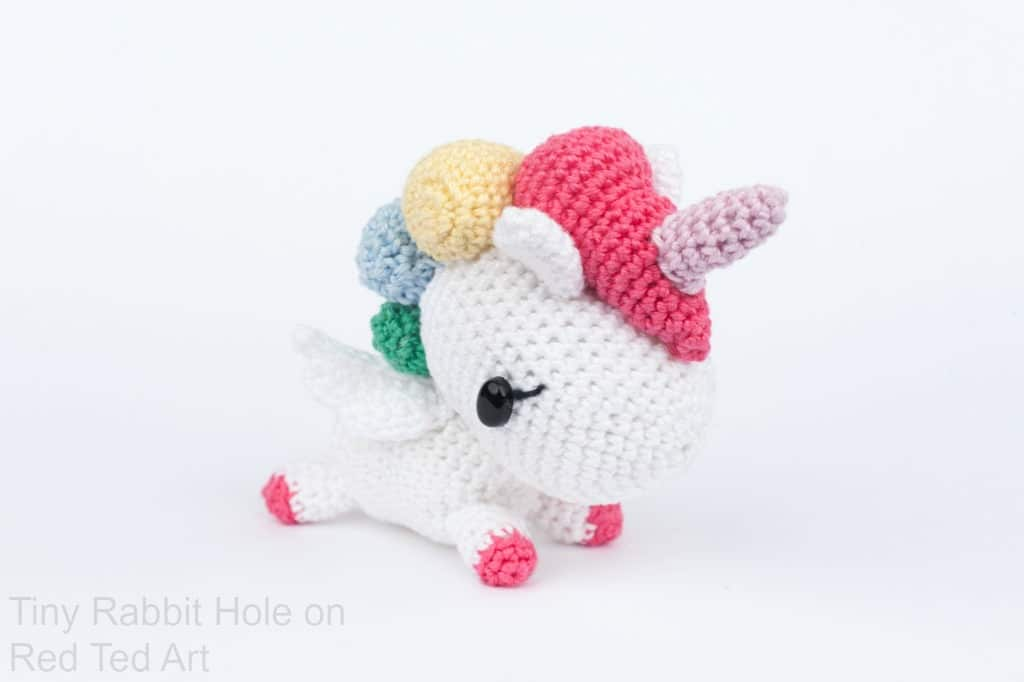 Free Crochet Unicorn Pattern Red Ted Arts Blog