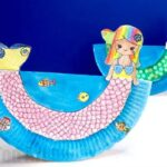 Rocking Paper Plate Mermaid