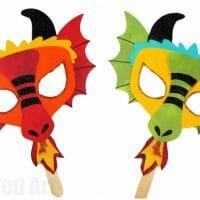 DIY Dragon Mask Printables