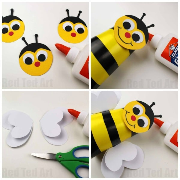 Bee Cup Craft For Preschoolers Red Ted Art