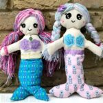 Mermaid Rag Doll Pattern
