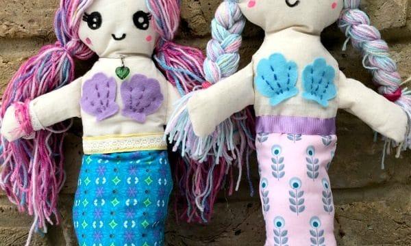 Mermaid Rag Doll Pattern