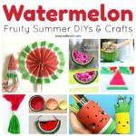 DIY Watermelon Craft Ideas