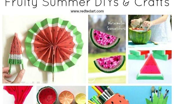 DIY Watermelon Craft Ideas