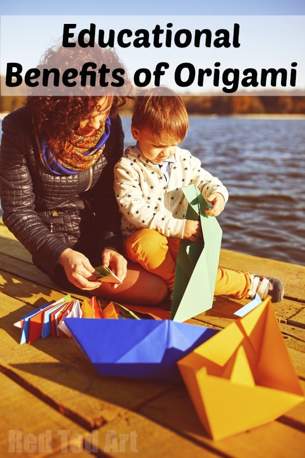 Benefits of Origami - there are many great Benefits of Origami for kids and adults a like. Origami can be used in Education, Development and Therapy #orgami #whyorigami #benefits #education #teachers #ece